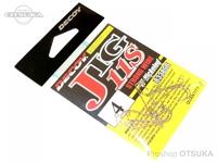 デコイ ワームフック - ジグ11S ストロングワイヤー #シルバー #4