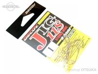 デコイ ワームフック - ジグ11S ストロングワイヤー #シルバー #1