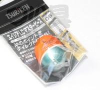 釣研 エイジアLCマスターピース - 円錐ウキ スカーレット 浮力05(-G7)
