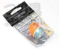 釣研 エイジアLCマスターピース - 円錐ウキ スカーレット 浮力03(00)