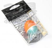 釣研 エイジアLCマスターピース - 円錐ウキ スカーレット 浮力01(0アルファ)
