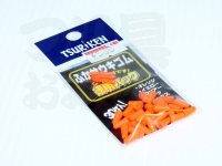 釣研 ふかせウキゴム -  徳用 オレンジ#