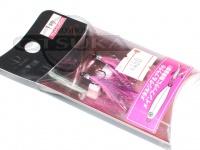 オーシャンルーラー ソルトフックトレブルフェザー -  ファッションピンク サイズ 1号(#12)