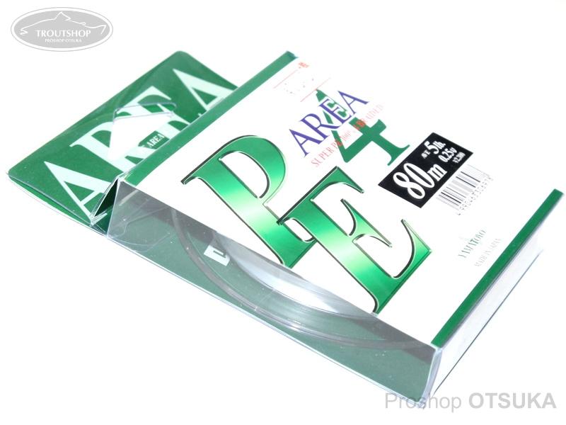 山豊テグス PE エリア PE エリア4 0.25号 5lb #スーパーホワイト
