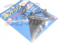 ミヤマエ ヨリトリフィン - 三角型  重さ25g 全長14cm 引張強度135k