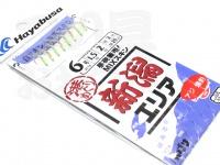 ハヤブサ 港めぐり  新潟エリア - AS-009  鈎6号-ハリス1.5号