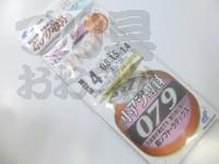 ハヤブサ 小アジ専科 079ピンクスキン - HS079 #オキアミ 鈎4号-ハリス0.8号
