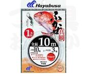 ハヤブサ ふかせ真鯛 10m1本鈎 - SE212  鈎12号-ハリス5号