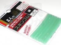 ハヤブサ 名人の道具箱 スキンゴム - P116 #緑 -