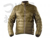 ハヤブサ 光電子ハイブリッドULダウンインナージャケット - Y1118 カーキグリーン サイズ  M