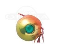 ハヤブサ 無双真鯛 フリースライドVS - カスタムヘッド #2オレンジゴールド タングステンヘッド 45g