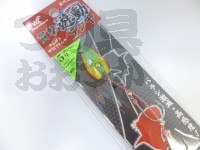 ハヤブサ 貫撃遊動テンヤ - SE105 #トリプルチャートラメ 5号