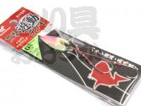 ハヤブサ 貫撃遊動テンヤ - SE105 #ピンクグロー 6号