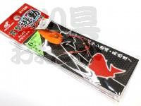 ハヤブサ 貫撃遊動テンヤ - SE105 #背黒オレンジ 6号