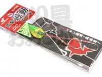 ハヤブサ 貫撃遊動テンヤ - SE105 #トリプルチャートラメ 6号