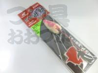ハヤブサ 貫撃遊動テンヤ - SE105 #3 ピンクグロー 10号