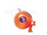 ハヤブサ 無双真鯛 フリースライドVS - カスタムヘッド #7シュリンプオレンジ タングステンヘッド 45g