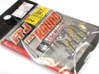 ハヤブサ バス ジグヘッド - FPJ タイプラウンド  1/32oz #2