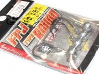 ハヤブサ バス ジグヘッド - FPJ タイプラウンド  1/8oz #1/0