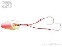ハヤブサ 貫撃遊動テンヤ - SE105 #ピンクグロー 12号