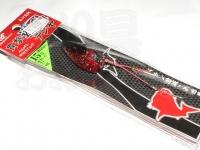 ハヤブサ 貫撃遊動テンヤ - SE105 #海老レッドラメ 15号