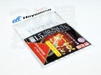 ハヤブサ 瞬貫わかさぎ - X32047A2  秋田キツネ1.5号枝2.5-3.5cm間10cm