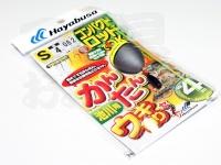 ハヤブサ かんたんウキ釣りセット - 池川用 CA140  S 袖4号ハリス0.8号道糸2号