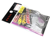 フィナ ハイパートルネードウェイテッド - FF208 #フッ素ブラック サイズ #7/0 ウェイト3.5g