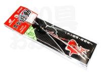 ハヤブサ 貫撃遊動テンヤ - SE105 #11 ステルスブラック 5号