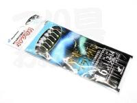 ハヤブサ 小アジ専科 発光プランクトン - HS203 #発光&ケイムラ 小アジ6号 ハリス1号 幹2号 全長1.4m