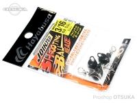 ハヤブサ バス ジョインテッドシューティングボールヘッド - FF404 #ブラック 3/16oz 5.2g