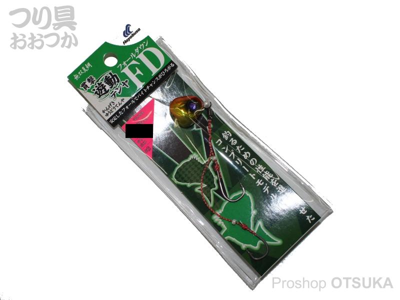ハヤブサ 貫撃遊動テンヤ FD SE-108 10号 上13号下12号ハリス8号 #2 オレキンホロ