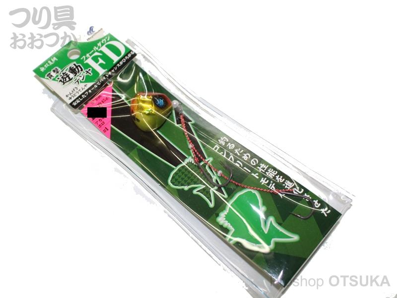ハヤブサ 貫撃遊動テンヤ FD SE-108 12号 上13号下12号ハリス8号 #1 アカキンホロ