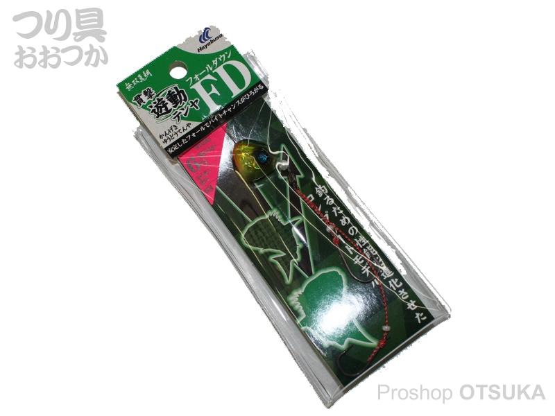 ハヤブサ 貫撃遊動テンヤ FD SE-108 12号 上13号下12号ハリス8号 #3 ミドキンホロ