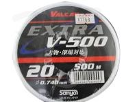 サンヨーナイロン EXパワー V-500 - 大物深場対応 #クリアー 30号