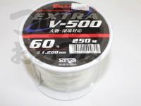 サンヨーナイロン EXパワー V-500 - 大物深場対応 #クリアー 40号