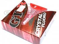サンヨーナイロン GT-R -  クリスタルフロロ #クリアー 3lb 100m