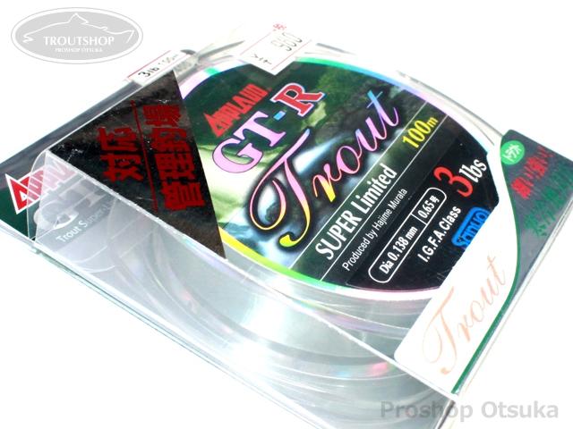 サンヨーナイロン GT-R GT-R トラウトスーパーリミテッド 3lb 100m #クリアー