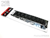 タカ産業 ラバーチューブ - T-101 #ブラック 25mm×500mm