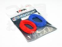 タカ産業 ラインバンド - M-15 #レッド/ブルー M