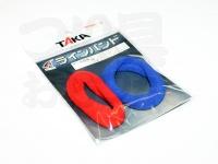 タカ産業 ラインバンド - M-15 #レッド/ブルー L