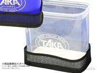 タカ産業 ワカサギ用ライブウェル - WK-0008 #クリア サイズ約20×13×20cm(蓋除く)