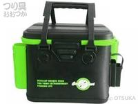 タカ産業 ツールバッカンミニ - CN-316 #ブラック/グリーン 33cm