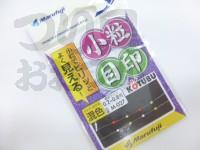 まるふじ 小粒目印 ジンタン糸ウキ - M-027 混色 -