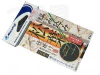 マルフジ 編み込み松葉 - 0.6~0.8 #イエロー #0.6~0.8