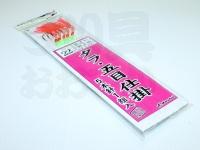 まるふじ タラ・五目仕掛 - D-109  ムツ22号 ハリス12号30cm 幹糸14号