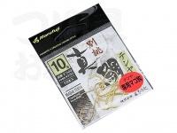 まるふじ 真鯛テンヤ専用マゴ鈎 - Z-049 #ゴールド 10号