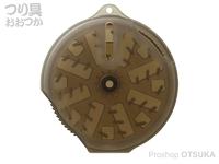 第一精工 切れ端×糸クズワインダー -  #ダークアース 73×20mm 24g