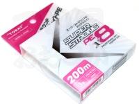 東レフィッシング スーパーストロングPE X8 - 200m 巻 #パープル/レッド/グリーン/ピンク/ブルー 1.0号