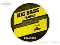東レフィッシング ソラロームビッグバス フロロ -  #ナチュラル 20lb 100m